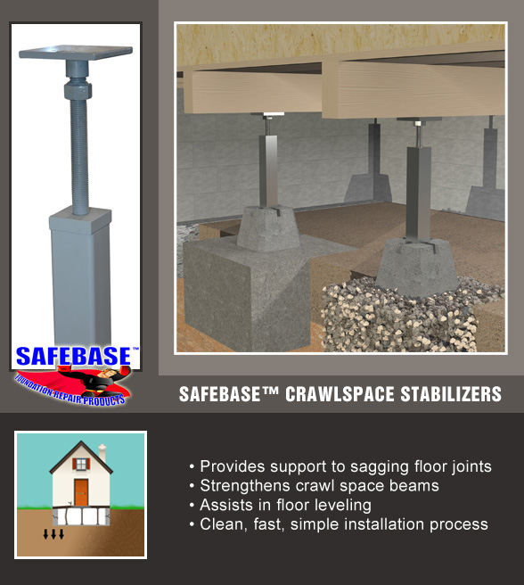 Crawl Space Supports & Floor Jacks NE