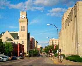 Sioux City IA Downtown